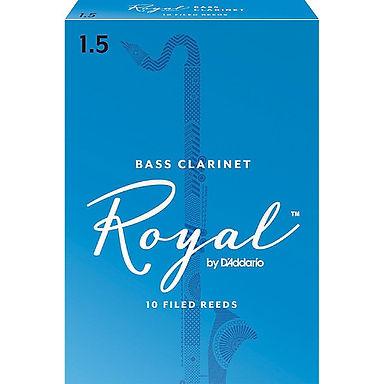 03.Royal Bass Clarinet Reeds (10 Pack)