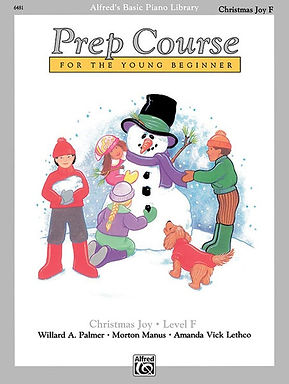 01.Alfred's Basic Piano Prep Course: Christmas Joy F