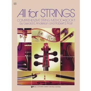 All For Strings Violin Bk1