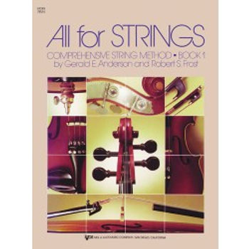 All For Strings Violin Bk1