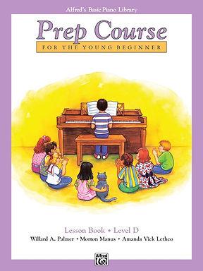 01.Alfred's Basic Piano Prep Course: Lesson D