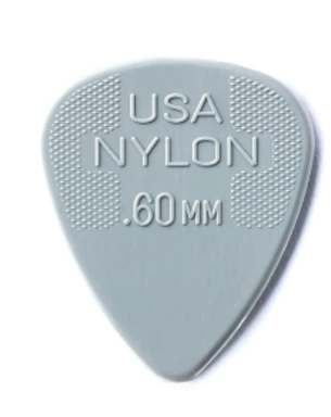 44P60 01._12-pack Dunlop Nylon  .60mm