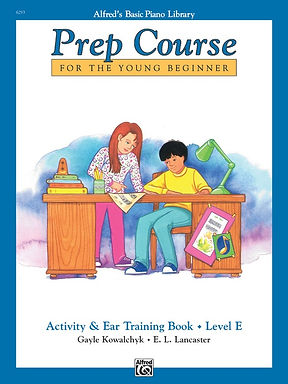 01.Alfred's Basic Piano Prep Course: Activity & Ear Training E
