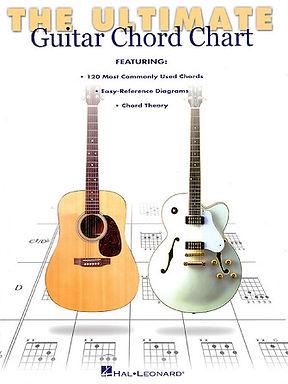 00695347 Hal Leonard Ultimate Guitar Chord Chart