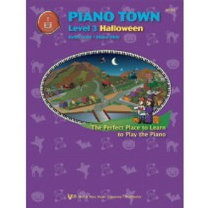 MP153 01.Piano Town Halloween Level 3