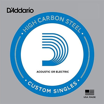 D'Addario Plain Steel Electric Single Strings