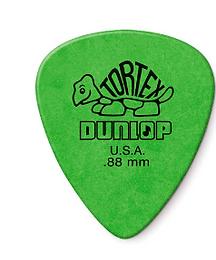 01._12-pack Dunlop Tortex Green .88mm