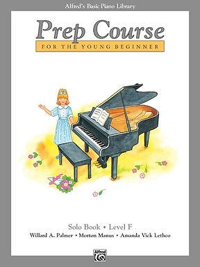 01.Alfred's Basic Piano Prep Course: Solo F