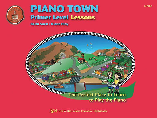 MP100 Piano Town Primer Lessons