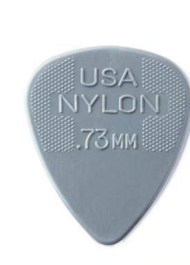 44P73 01._12-pack Dunlop Nylon  .73mm