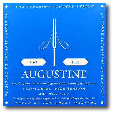 Augustine Blue Classical High Tension Strings (set)