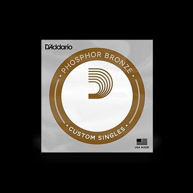 D'Addario  Phosphor Bronze Acoustic Single Strings (see list)