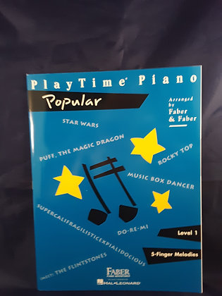 01.Play Time Piano Popular Lev. 1