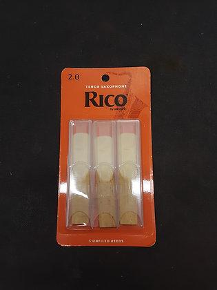02.Rico Tenor Sax Reeds (3 pack).