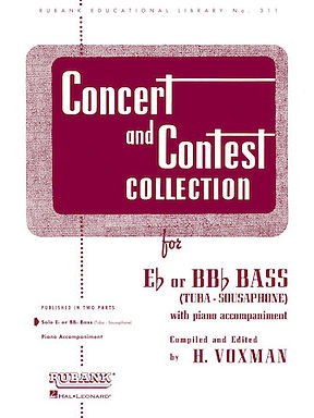 01.Rubank Concert  & Contest Solos Tuba