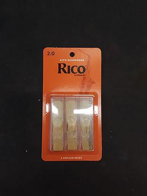 01.Rico Alto Sax Reeds (3 pack).