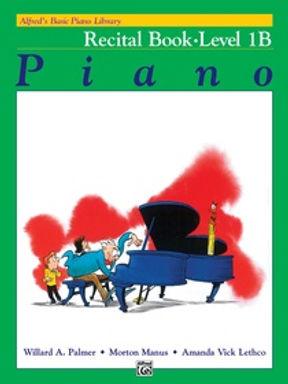 01.Alfred Basic Piano Library 1B Recital