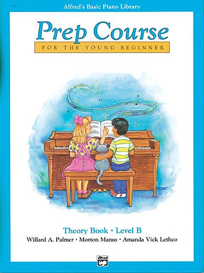 01.Alfred's Basic Piano Prep Course: Theory B