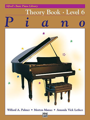 2517 Alfred Basic Piano Library 6 Theory