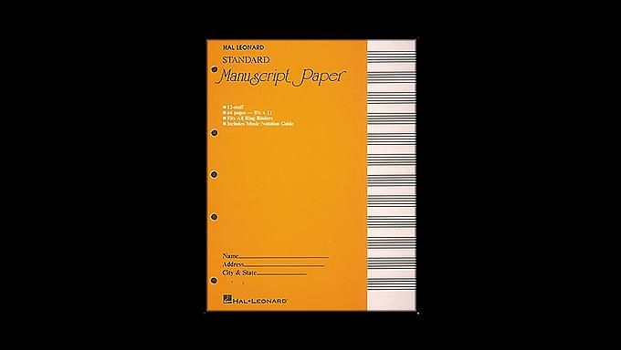 00210001 Manuscript paper, 64 pages bound