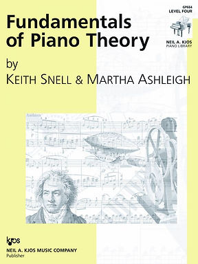 GP664 01. Fundamentals of Piano Theory, Level 4