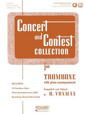 01.Rubank Concert  & Contest Solos Trombone