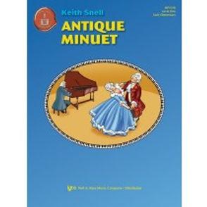 "MP1016 01.Piano Town ""Antique Minuet"" Level 1 Solo"