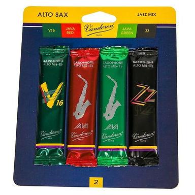 02. Vandoren (Paris) Alto Sax Jazz Mix reeds