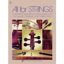 All For Strings Cello Bk1