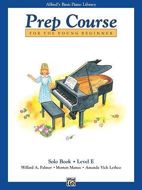 01.Alfred's Basic Piano Prep Course: Solo E