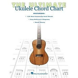 00102549 Hal Leonard Ultimate Ukulele Chord Chart