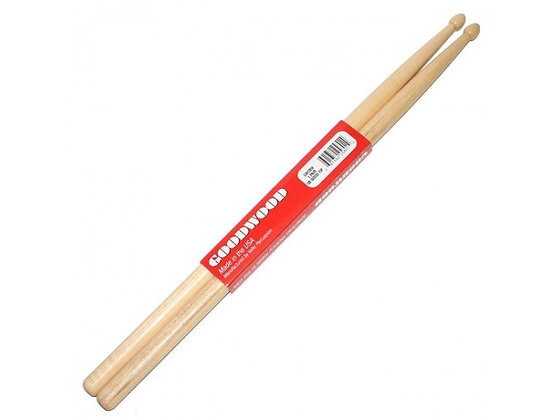 Goodwood by Vater Drumsticks, Hickory Wood Tip