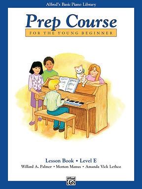 01.Alfred's Basic Piano Prep Course: Lesson E