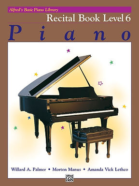 2499 Alfred Basic Piano Library 6 Recital