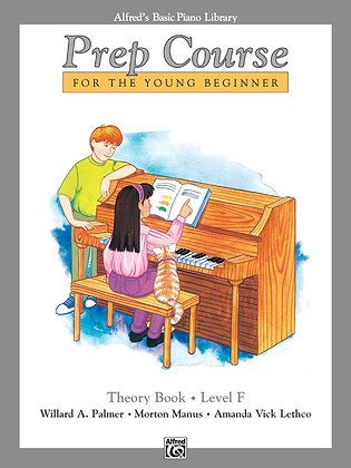 01.Alfred's Basic Piano Prep Course: Theory F
