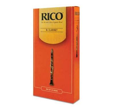 03. Rico Clarinet Reeds (box 10)