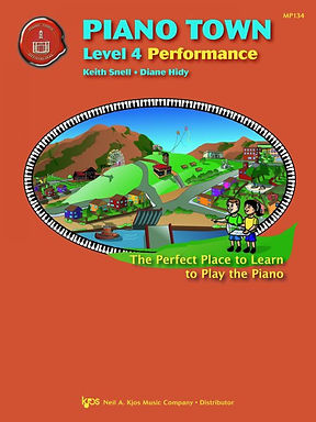 MP134 01.Piano Town Level 4 Performance