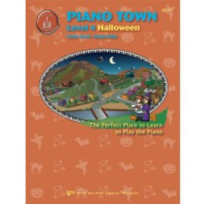 MP154 01.Piano Town Halloween Level 4