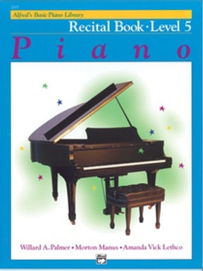 01.Alfred Basic Piano Library  5 Recital