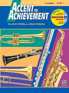 01.Accent on Achievement Book 1 Trombone