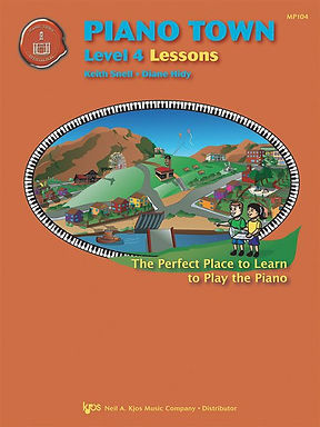 MP104 Piano Town Level 4 Lessons