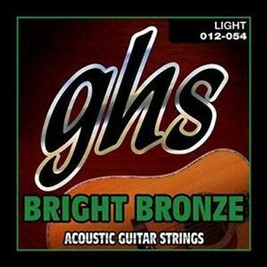 GHS Acoustic String Set Bright Bronze Acoustic Light 12-54
