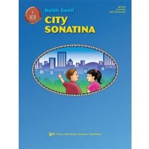 """MP1015 01.Piano Town """"City Sonatina"""" Level 1 Solo"""