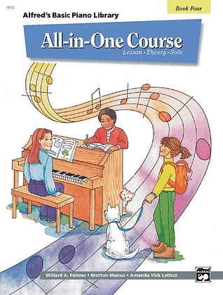 01.Alfred Basic Piano Library All In One Bk 4