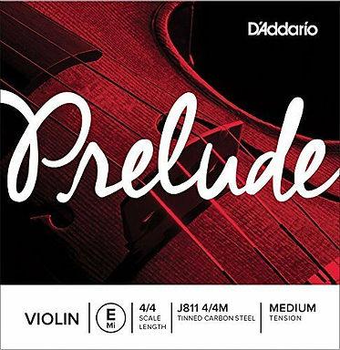 VIOLIN - Daddario Prelude E-string (see sizes list)