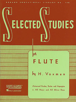 01.Rubank Selected Studies for Flute