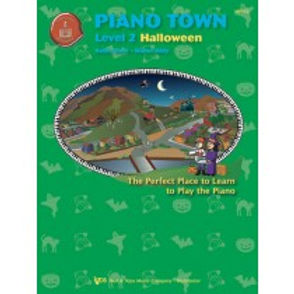 MP152 01.Piano Town Halloween Level 2