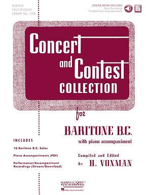 01.Rubank Concert  & Contest Solos Baritone B.C.