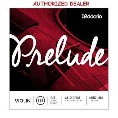 Daddario Prelude 4/4 Violin SET (see sizes list)