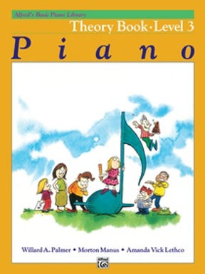 01.Alfred Basic Piano Library 3 Theory